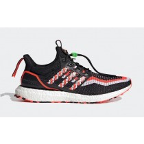 """Adidas Ultra Boost DNA """"Lion Dance"""" GV9813 Black/Red"""