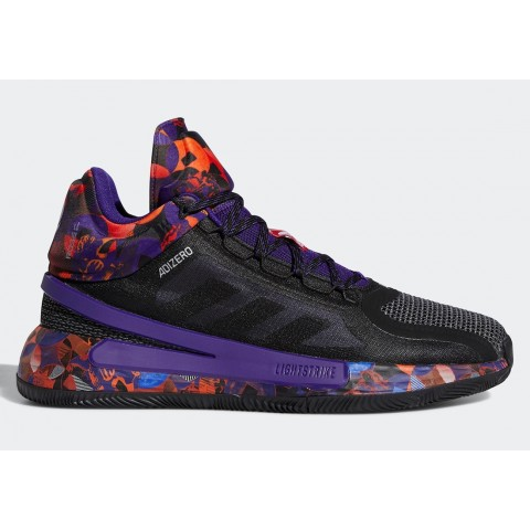 """Adidas D Rose 11 """"Made in China"""" G55803 Black/Purple"""