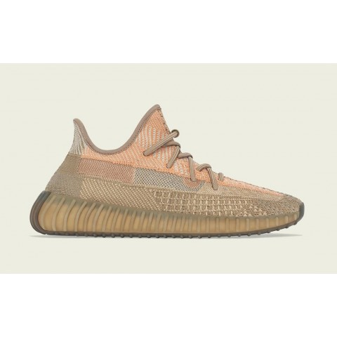 """Adidas Yeezy Boost 350 V2 """"Sand Taupe"""" FZ5240 Brown"""