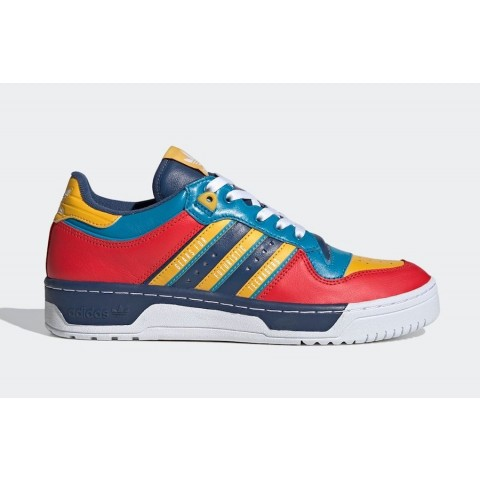 Human Made x Adidas Rivalry Low FY1083 Blue