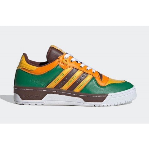 Human Made x Adidas Rivalry Low FY1084 Green
